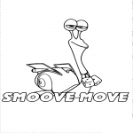 Coloriage Turbo Smoove Move