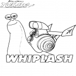 Coloriage Turbo Whiplash