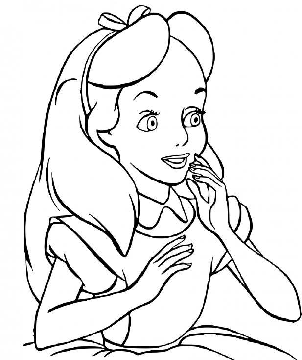 Alice Disney dessin