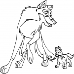 Coloriage Balto 2