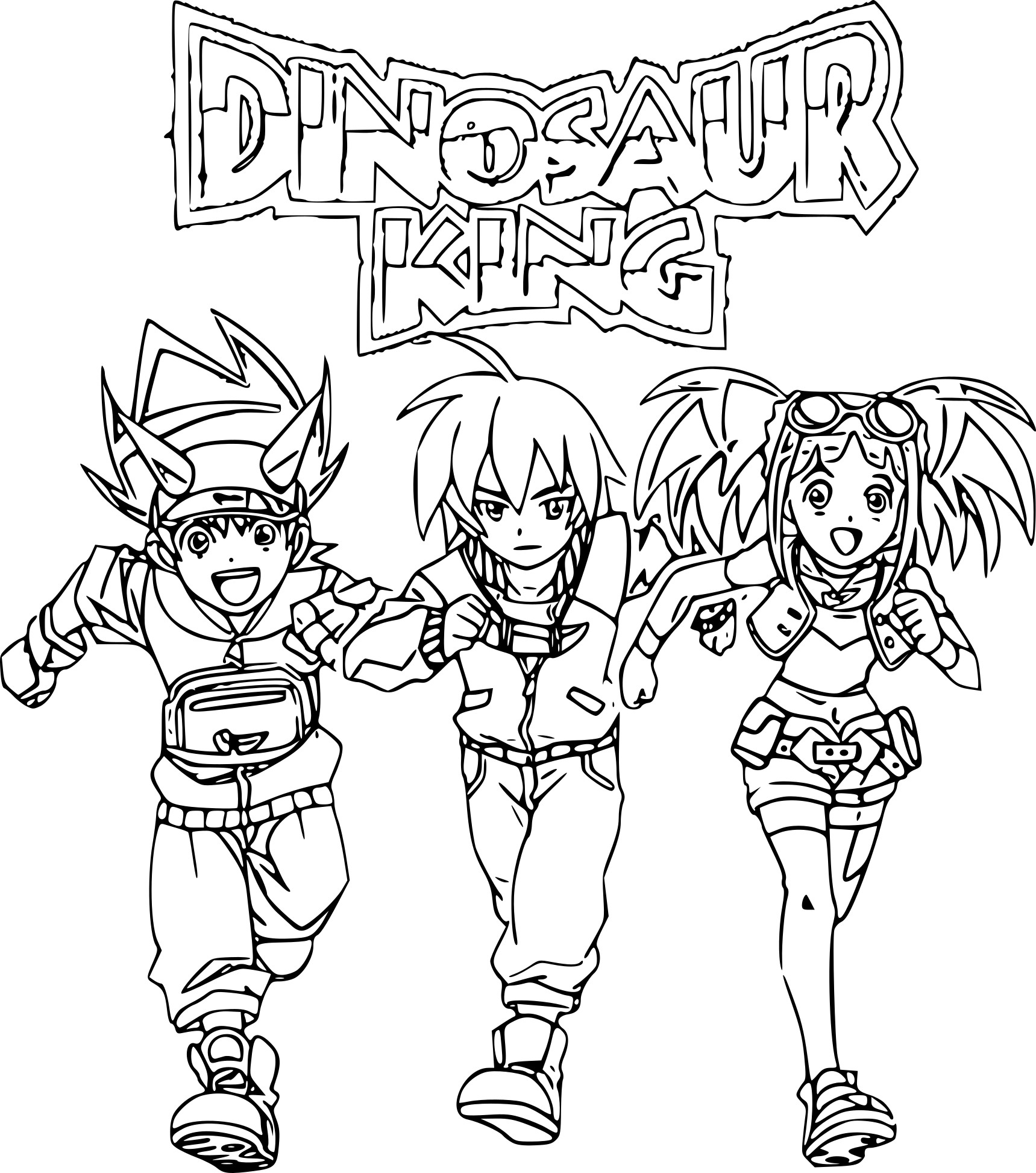 Coloriage dinosaure king imprimer sur coloriages info - Top coloriage dinosaures ...