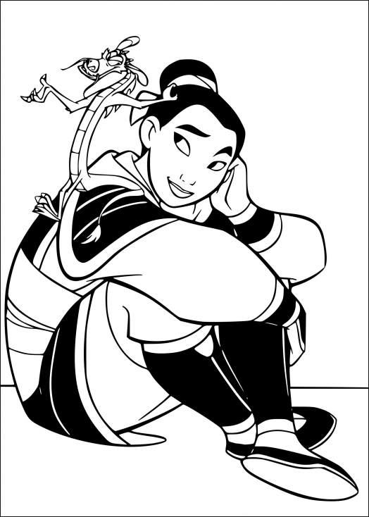 Mulan et le dragon