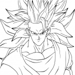 Coloriage Dragon Ball Z Kai