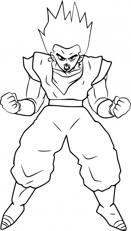 Dragon Ball Z Vegeto