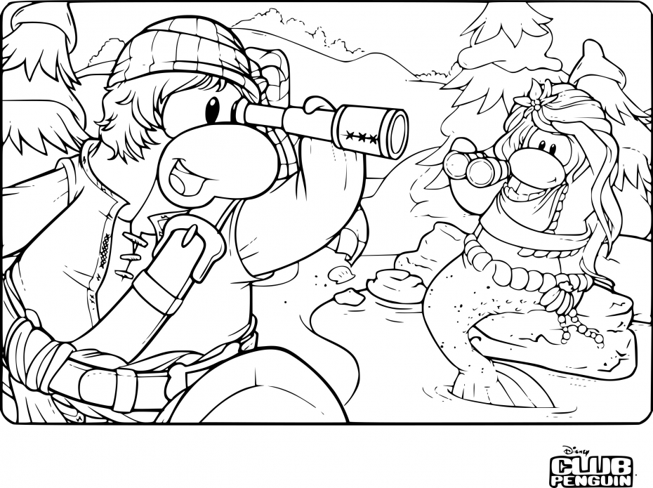 Club Penguin aventure