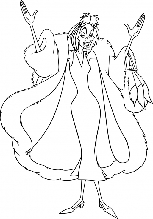 Cruella d'Enfer dessin