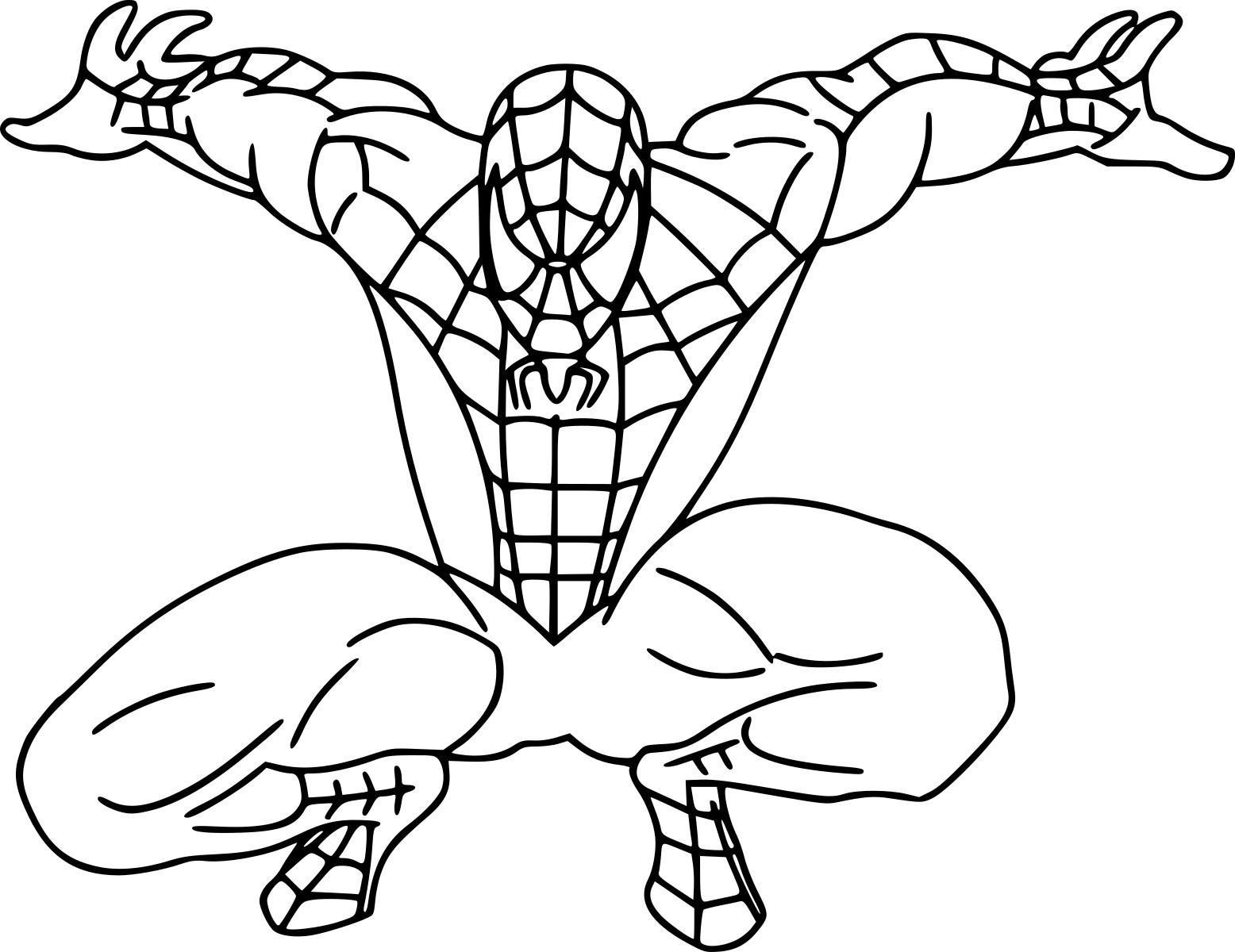 Coloriage spiderman 4 dessin imprimer sur coloriages info - Dessin spiderman ...