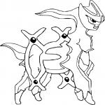 Pokemon Arceus dessin