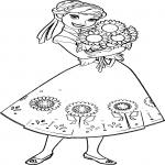 Coloriage Anna la Reine des Neiges