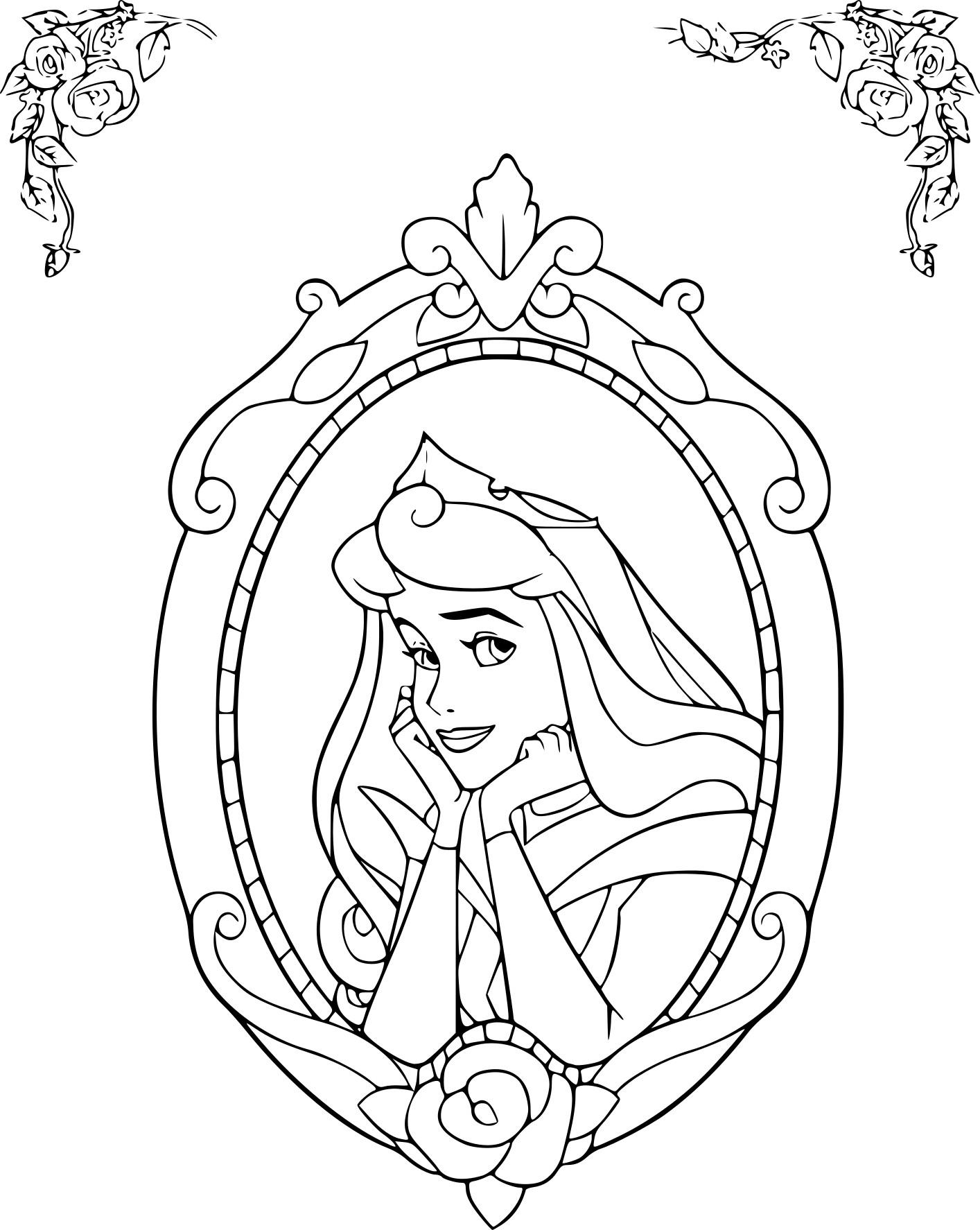 Coloriage Disney la Belle au bois dormant à imprimer sur ...