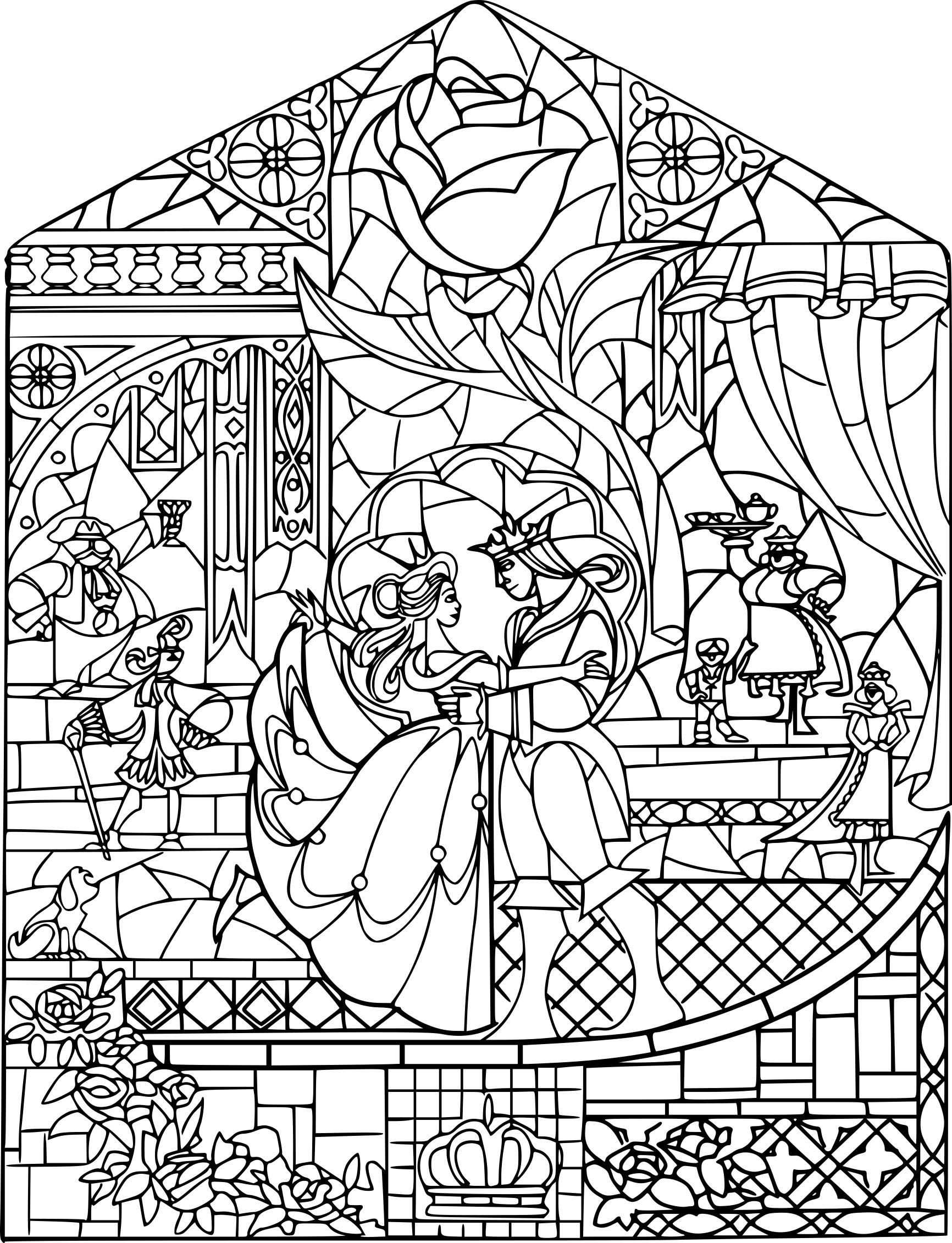 Coloriage disney adulte imprimer sur coloriages info - Dessin a colorier adulte ...