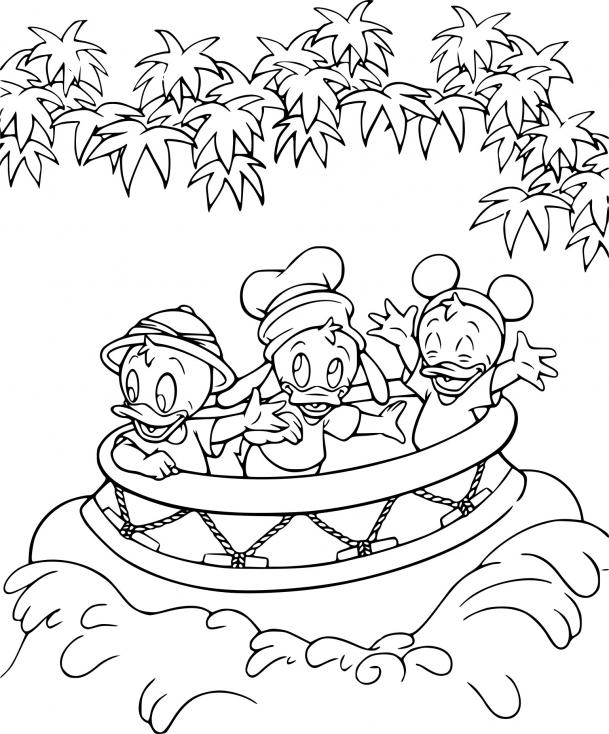 Coloriage Disney animaux à imprimer