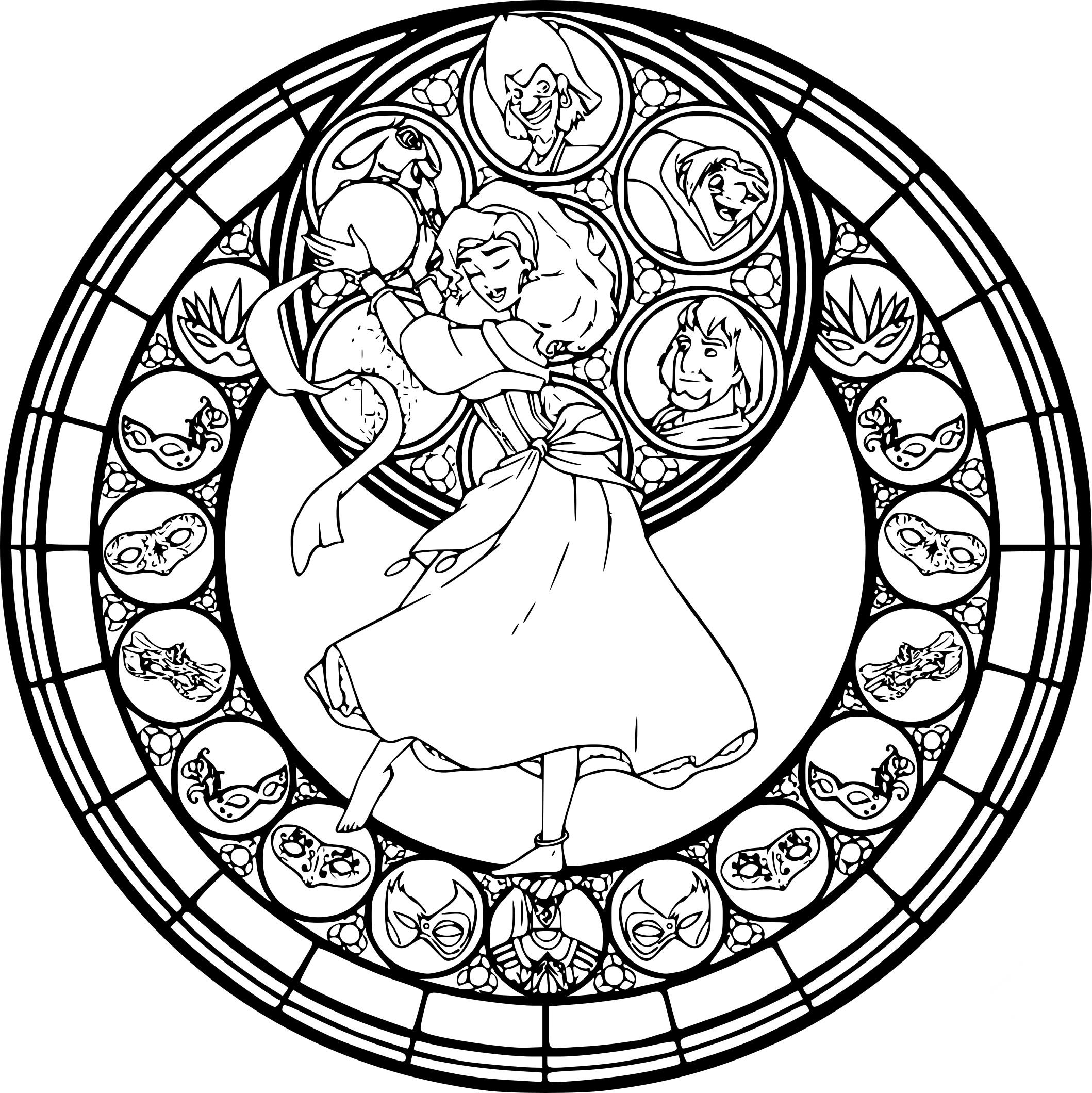 Coloriage Mandala Disney A Imprimer Sur Coloriages Info