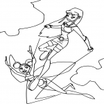 Coloriage Teen Titans jeux