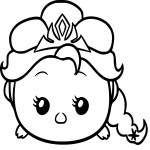 Coloriage Tsum Tsum Disney