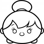 Coloriage Tsum Tsum fée clochette