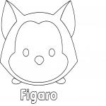 Coloriage Tsum Tsum Figaro