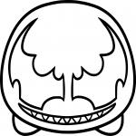 Tsum Tsum Spiderman dessin à colorier