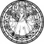 Disney mandala dessin