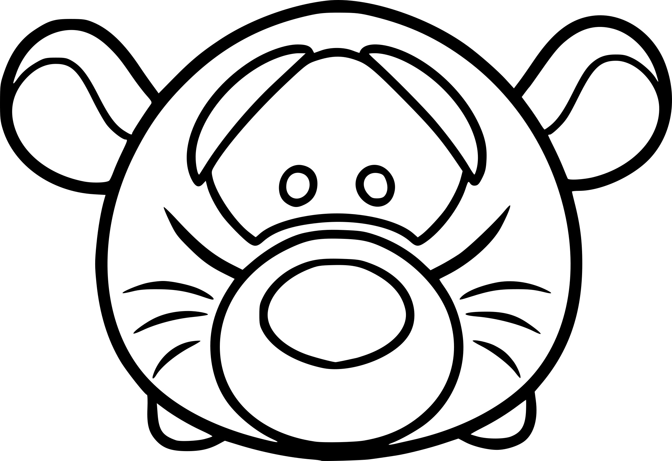 Coloriage Tsum Tsum Dumbo Disney Dessin: Coloriage Tsum Tsum Dessin à Imprimer Sur COLORIAGES .info