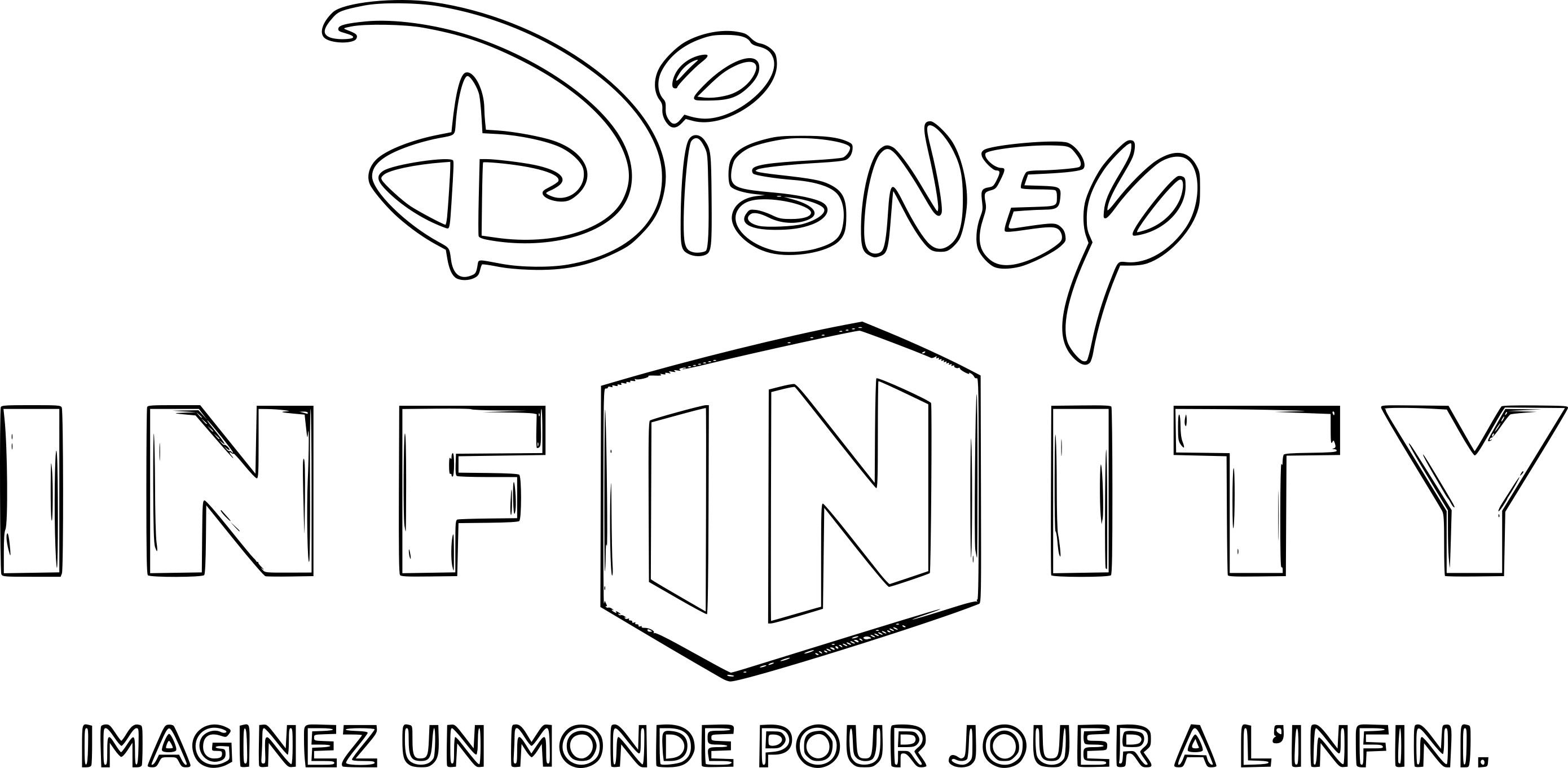Coloriage Disney Infinity à imprimer sur COLORIAGES .info