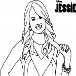 Disney Jessie dessin à colorier