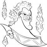 Coloriage Hercule Hades