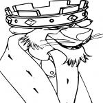 Le prince Jean dessin à colorier