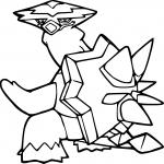 Boumata Pokemon dessin à colorier
