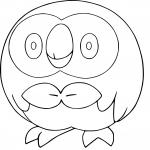 Brindibou Pokemon dessin à colorier