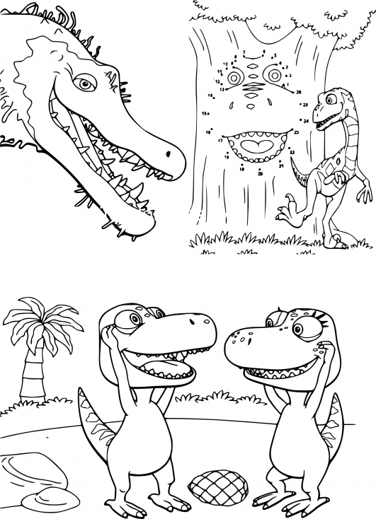 Dinosaure Dino Train
