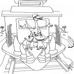 Le Dino train