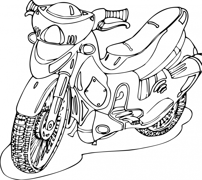 Moto pour adulte