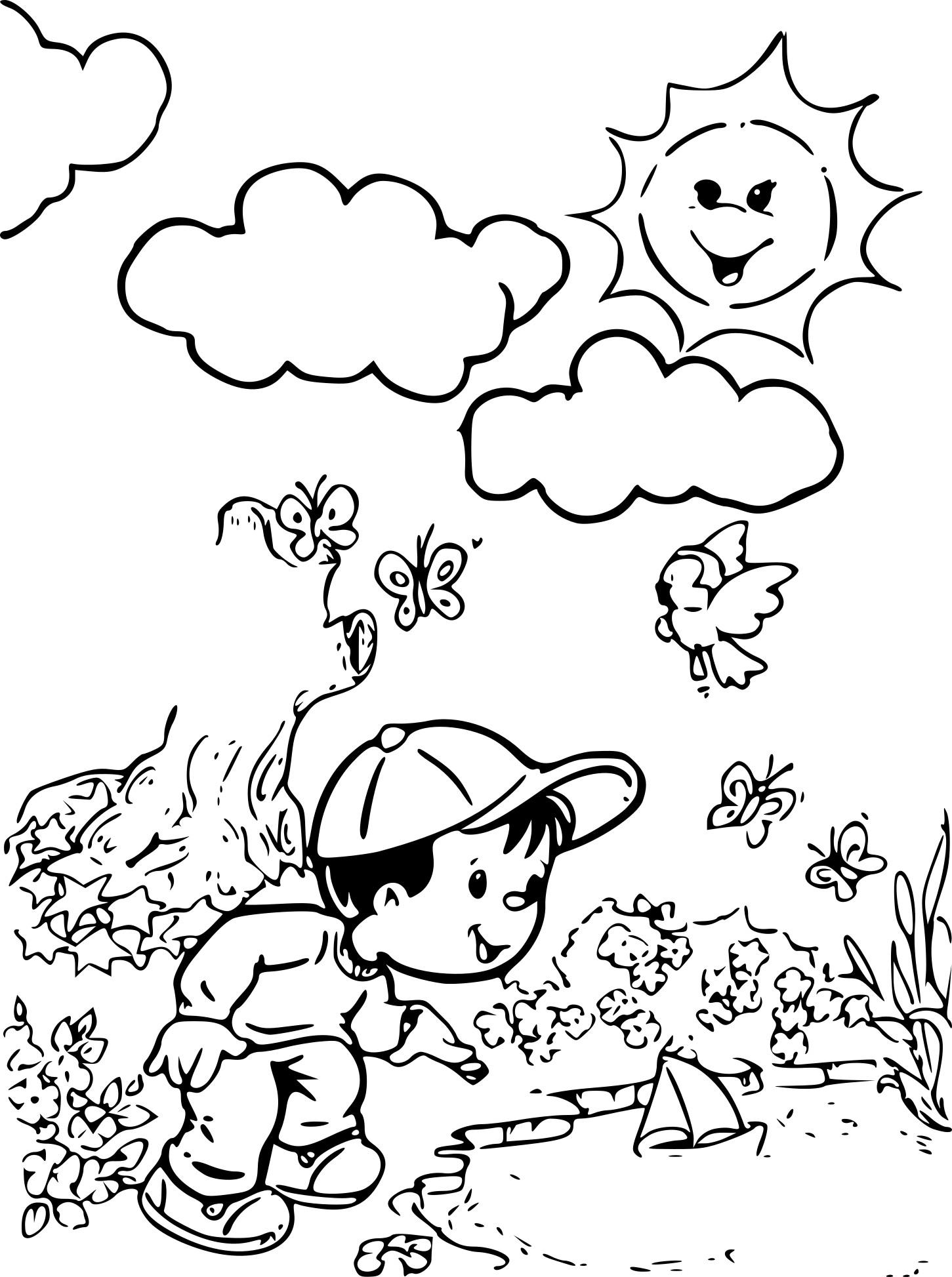 Coloriage saison t imprimer sur coloriages info - Coloriage saisons a imprimer ...