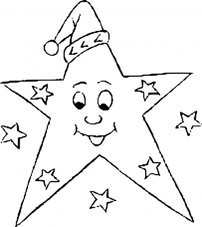 Etoile de Noel dessin
