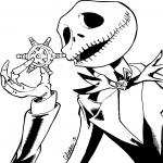 Coloriage Monsieur Jack