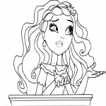 Ever After High Cedar Wood dessin à colorier