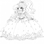 Ever After High Darling Charming dessin à colorier