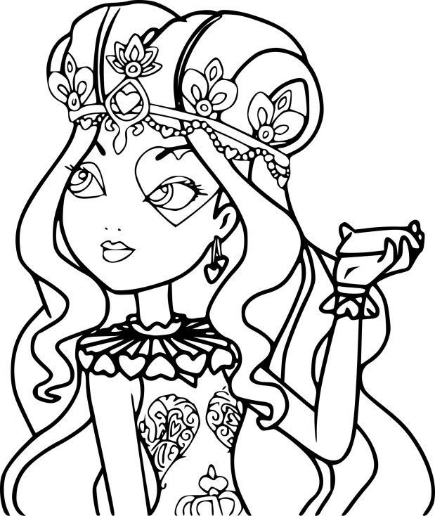 Ever After High Lizzie Hearts