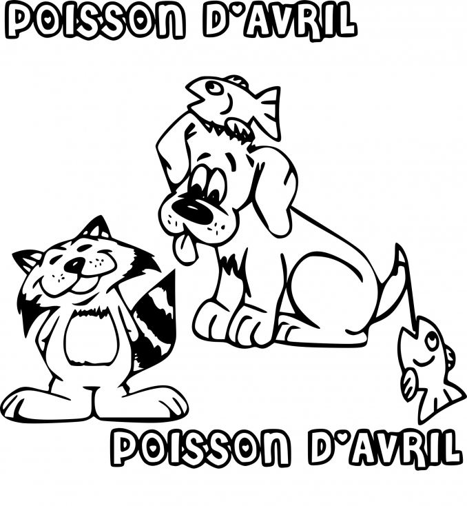 Poisson d'avril rigolo