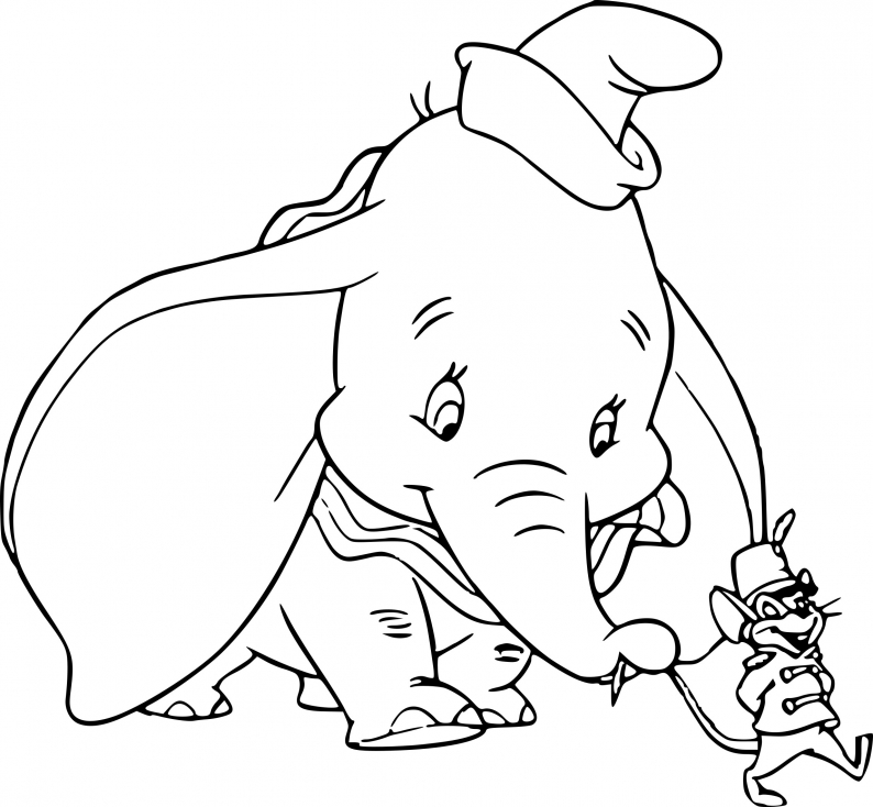 Dumbo et le rat Timothy