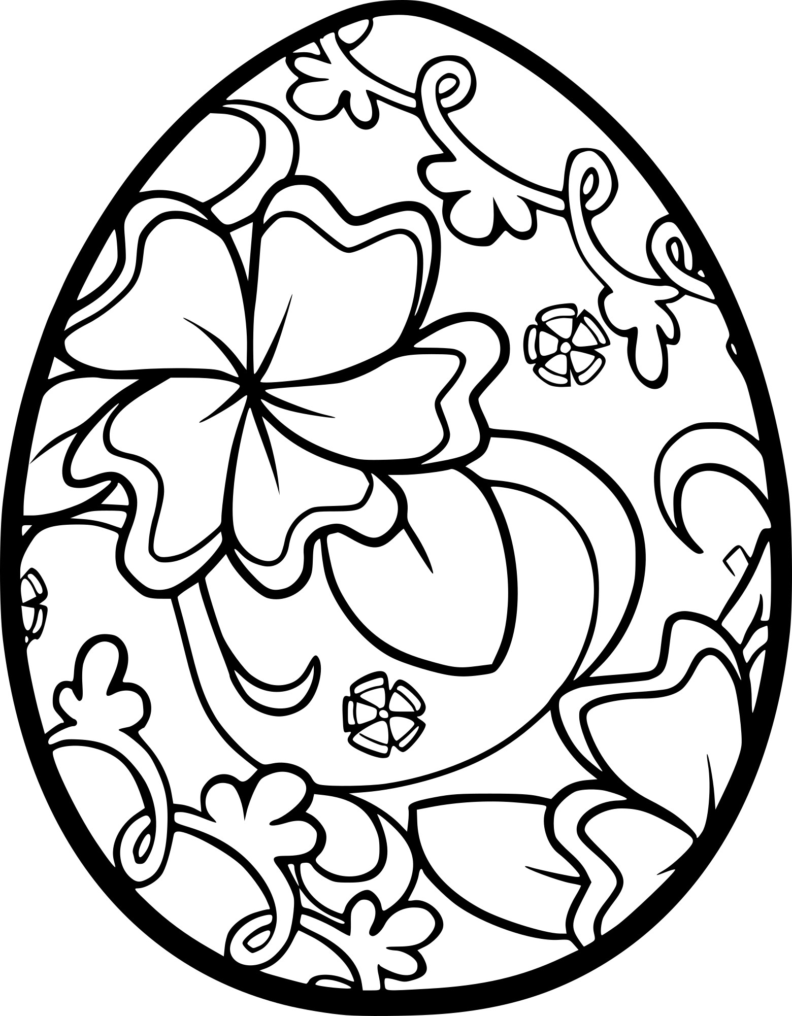 coloriage pques adulte - Coloriage Paques