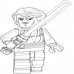 Coloriage Lego Star Wars Anakin