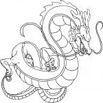 Coloriage Shenron Dragon Ball Z